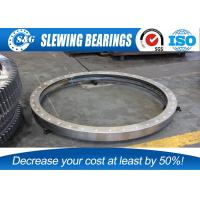 China Small Crane Slewing Bearing Ring Compact In Structure And Light wholesale