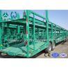 China Double Axles Single Car Carrier Semi Trailer High Tensile Steel Q345B wholesale