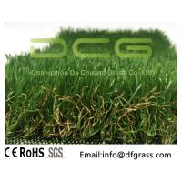 Buy cheap Olive Shaped Monofilament Realistic Artificial Grass Soft Touch Natural Looking from wholesalers