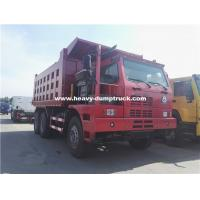 China 70 Tons Howo Mining Dump Truck ZZ5707S3840AJ 32m3 Body Half Cabin for Nickel Minerals wholesale