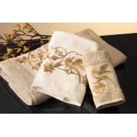 China wholesale decorate embroidery towel set wholesale