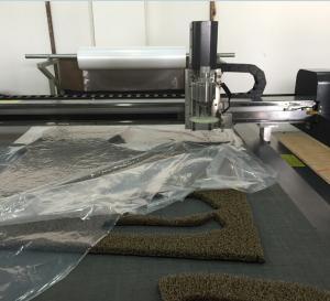 China rubber car pad mat cutting machine wholesale