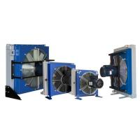 China Electrical Fan Hydraulic Oil Heat Exchanger , Aluminum Radiator wholesale