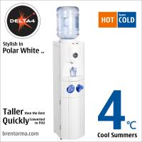 China DELTA 4 Exceptional Floorstanding Cooler Hot and Cold Water Dispenser on sale