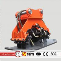 China BEIYI BYKC03 excavator mounted hydraulic vibro plate compactor vibrating compactor wholesale