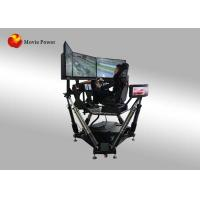 China Entertainment Equipment Car Racing Simulator Online Play 3㎡ Space on sale