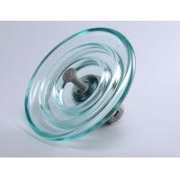 China 11KV Rated Voltage Glass Power Line Insulators High Temperature Resistance wholesale