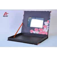 China Customized Printed Cosmetic Paper Box With Mirror wholesale