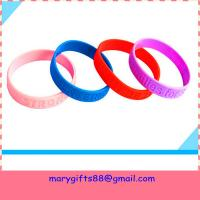 Quality cheap debossed silicone bands wholesale