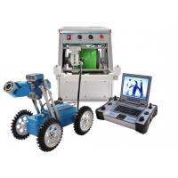 China IP68 Waterproof Pipe Inspection Crawler Robot Cable Transmitting Synchronically System wholesale