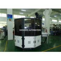 China Ruler / Plywood Silk Automatic Screen Printing Machine Turntable Type on sale