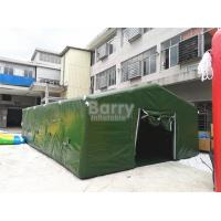 Buy cheap Giant Air Sealed Or Air Military Inflatable Frame Tent For Outdoor Party Or Event from wholesalers