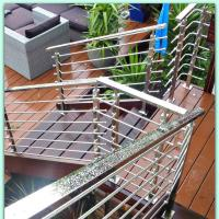 China High Quality Modern Design Anti-rust Safty Rod Railing With Handrail wholesale