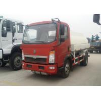 China 6 Wheels Oil Tanker Truck 91HP Diesel Engine 5 Ton Payload Capacity wholesale