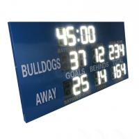 China 12 inch White Digits College Electronic Soccer Scoreboard Led Football Scoreboard wholesale