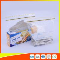 China Airtight Transparent Ziplock Snack Bags For Food Packing Customized Size wholesale
