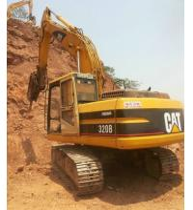 China Used Caterpillar Japan 320B excavator wholesale