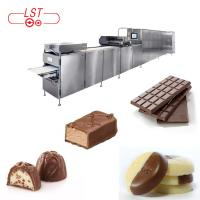 China PLC Controlled Chocolate Production Line For Chocolate Bar With Servo System wholesale