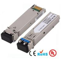 China 20KM Fiber Channel SFP Optical Transceivers SFP-1GE-LX Compatible with SFF-8472 on sale
