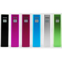 China 5200mAh Lipstick Portable USB Power Bank With Lithium Battery wholesale