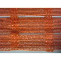 China Anti UV Industrial Safety Netting For Construction Plant , Orange And White wholesale