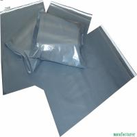 China Post Office Grey Plastic Mailing Bags 30 - 100MIC Thickness Customized Color wholesale