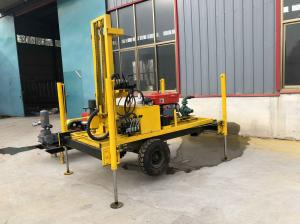 China Dia300mm Borehole Drilling Machine , ISO Hydraulic Well Drilling Rig wholesale