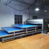 China 3 Layers EVA Laminated Glass Machine Independent System High Efficiency wholesale