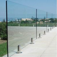 China Deck Railing for Villa / Modern Stainless Steel Glass Railing / Balcony Railing Outdoor Design wholesale