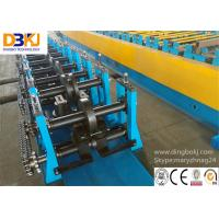 Quality Rack Beam C Channel Roll Forming Machine 8-12m / Min Metal Forming Equipment wholesale