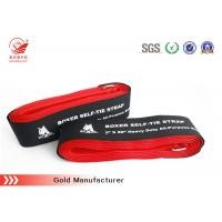 China High Strength Hook And Loop Hook Loop Buckle luggage Strap , Durable & Reusable on sale