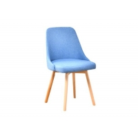 China Ergonomic Wood And Upholstered Dining Chairs For Living Room wholesale
