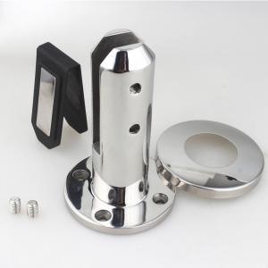China Customize Duplex 2205 Spigot / Round Friction Glass Balustrade Spigots wholesale