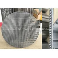 Quality Wedge Wire Screen Panel Fiter Mesh For Liquid Seperation Or Filtration With 0.3mm Opening Slot , OD 200mm for sale