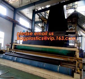 China 1mm hdpe geomembrane indoor fish farming tank 1.0mm geomembrane,2mm high density polyethylene waterproof membrane BAGEAS wholesale