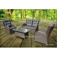 China 4 Piece Backyard Patio Set , Outdoor Garden Furniture Table And Chairs wholesale