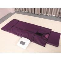China Lymph Drainage Far Infrared Sauna Blanket With 3 Zone Digital Controller on sale