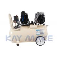 China Indoor Silent Oil Free Compressor , Long Life Spend Quiet Portable Air Compressor wholesale