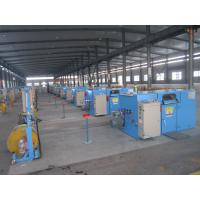 Buy cheap Bare Copper Wire Bunching Machine / double twist cable bunching machine from wholesalers