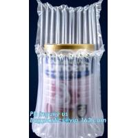 China air cushion pillow bags, inflatable air filled pillow bag, shockproof recycable air pillow glass bottle bag, bagplastics wholesale