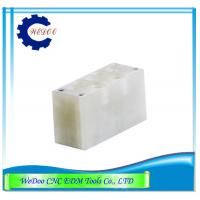 China Fanuc EDM Parts A290-8111-Y527 F317 EDM Upper Ceramic Isolator Plate 27Lx70Wx35H wholesale