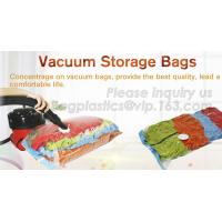 Quality Hot sale nylon PE laminated plastic vacuum storage bag for clothes, super-large vacuum storage compression jumbo bag wholesale