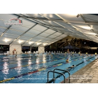 China Custom large indoor swimming pool stadium canopy tent sport event tents for events outdoor 100 200 300 500 1000 people wholesale