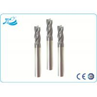 China 55 Hardness Roughing End Mill 6 mm Diameter Solid Carbide 14.3-14.8 G/cm3 wholesale
