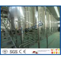 Buy cheap Beverage Manufacturing Soft Drink Making Machine , Soft Drink Plant Machinery from wholesalers