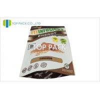 Quality Customized 150g Tea Foil Lined bags for food , Plastic Zipper Pouches for sale
