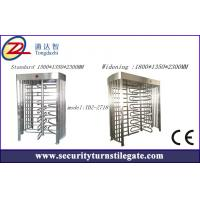 Quality Automatic full height Single Turnstile access control  Pedestrian Barrier Gate for sale