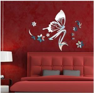 Buy cheap Mirror wall stickers beauty salon bedroom kindergarten shop decoration mirror from wholesalers