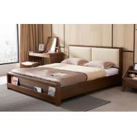 China High Standard Wooden Queen Bed Base , Home Wooden Bed Frames With Storage wholesale