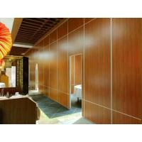 China Mdf Board Office Partition Walls / Aluminium Track Decoration Acoustic Room Dividers wholesale